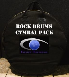 Rock Drums Cymbal Pack